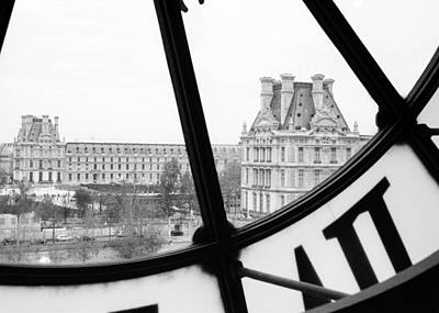 Pyrography - Musee D'orsay by Nancy Ingersoll