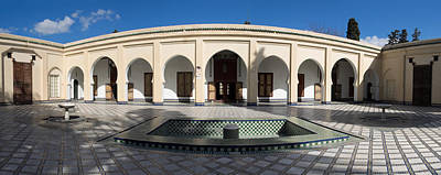 Moroccan Photograph - Musee Du Batha Built By Sultan Hassan I by Panoramic Images