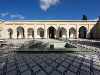Moroccan Photograph - Musee Du Batha In Fes, Moulay Yacoub by Panoramic Images