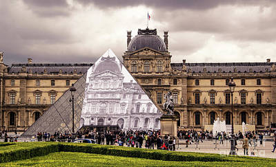 Photograph - Musee Du Louvre by Marina McLain