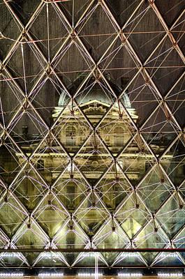 Photograph - Musee Du Louvre by Pablo Lopez