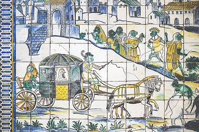 Museu Do Azulejo Art Print