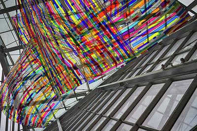 Photograph - Museum Atrium Art by Stuart Litoff