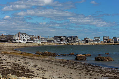 Photograph - Museum Beach Scituate Massachusetts by Brian MacLean