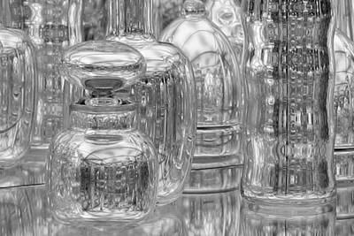 Photograph - Museum Glass by Polly Castor