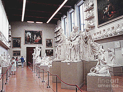 Photograph - Museum In The Vatican - Rome, Italy by Merton Allen