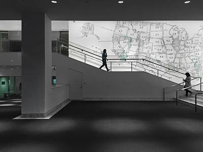 Photograph - Museum Lobby by Jenny Revitz Soper