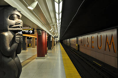 Photograph - Museum Metro Station by Andrew Dinh