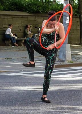 Museum Mile Nyc 6_14_16 Dancer Art Print