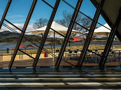 Photograph - Museum Of Australia Window - Canberra - Australia by Steven Ralser