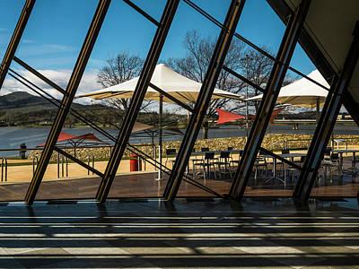 Photograph - Museum Of Australia Window - Canberra - Australia by Steven Ralser