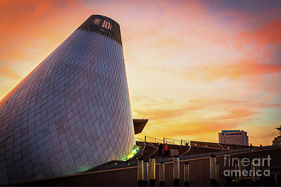 Museum Of Glass Tower#2 Art Print