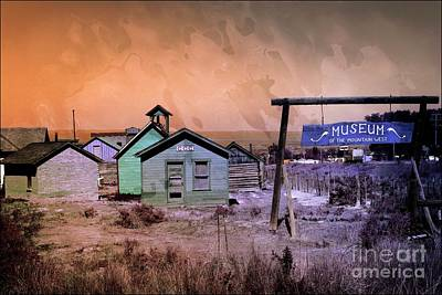 Mixed Media - Museum Of The Mountain West Montrose Colorado Usa by Bob Pardue