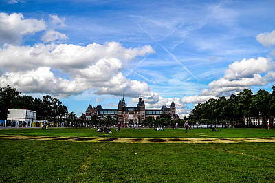 Photograph - Museum Park, Amsterdam by Chris Coffee