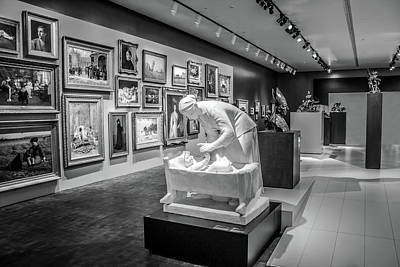 Photograph - Museum Series Bw 0487  by Carlos Diaz