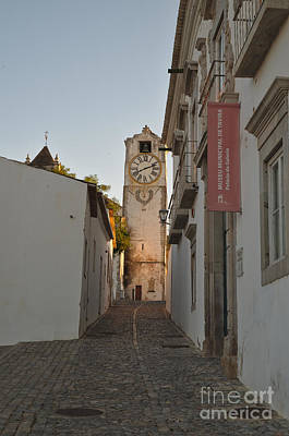 Medieval Photograph - Museum Street In Tavira by Angelo DeVal