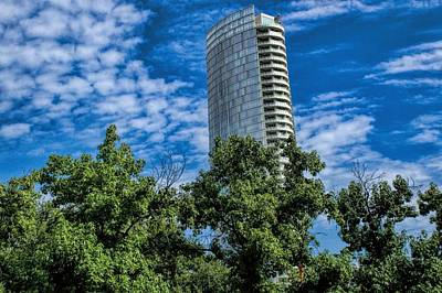 Photograph - Museum Tower Dallas by Diana Mary Sharpton