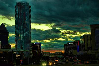 Photograph - Museum Tower Dallas Texas Downtown by Diana Mary Sharpton