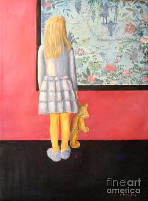 Painting - Museumsvisit by Dagmar Helbig