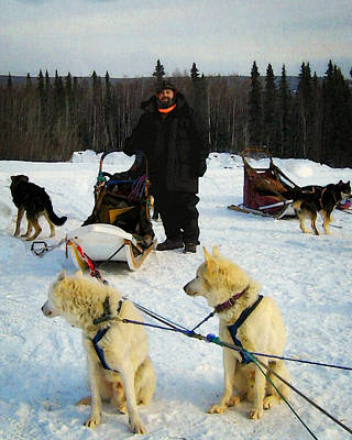 Photograph - Musher by Timothy Bulone