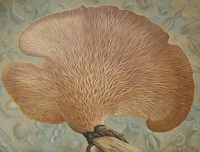 Painting - Mushroom  And Seeds by Tuco Amalfi