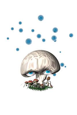 Mushroom Dreams Art Print by Carol and Mike Werner