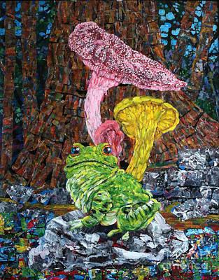 Trippy Painting - Mushroom Frog by Michael Koerber