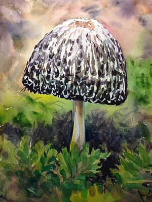 Painting - Mushroom by Lynne Haines