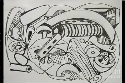 Featured Tapestry Designs - Mushroom Powered Engine 02 - Bellingham - Lewisham by Mudiama Kammoh
