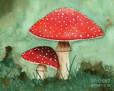 Painting - Mushrooms by Lisa Norris