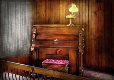 Music - Organist - A Vital Organ Art Print