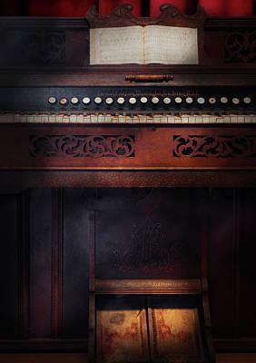 Music - Organist - Do Not Mortgage The Farm Art Print