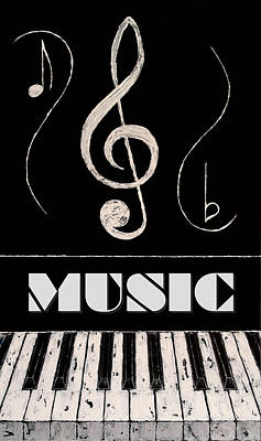 Music 10 Art Print by Wayne Cantrell