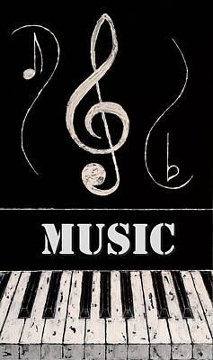 Music 4 Art Print by Wayne Cantrell