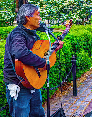 Photograph - Music Al Fresco by Jeff Stallard