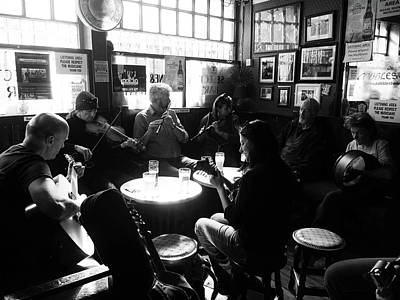 Photograph - Music And Guinness  by Lexa Harpell
