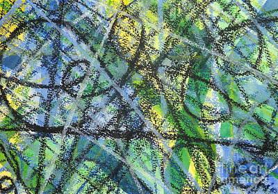 Music And Rhythm Art Print by Holly York