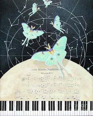 Music And Wings #4 Original by Sandra McClelland