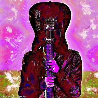 Music Art Guitarist Original