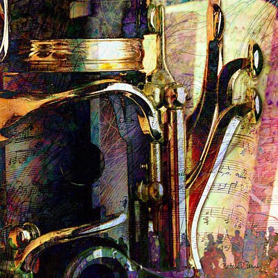Digital Art - Music by Barbara Berney
