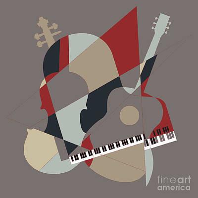 Digital Art - Music Box by Benjamin Harte
