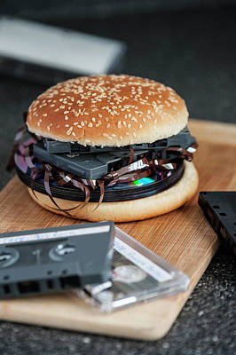 Photograph - Music Burger by Frederico Borges