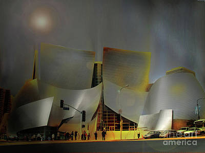 Photograph - Music Center by Tom Griffithe