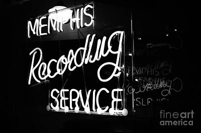 Music City Memphis Art Print by Kathleen White