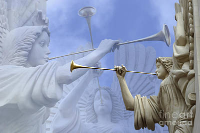 Statue Photograph - Music Divine by Jeannie Burleson