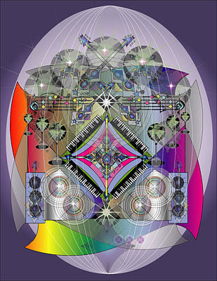 Music Fabrege Art Print by George Pasini