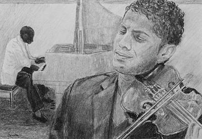 Drawing - Music For The Soul by Quwatha Valentine