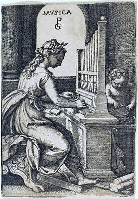 Drawing - Music by Georg Pencz
