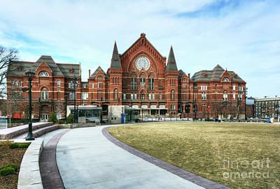 Cincinnati Landmark Photograph - Music Hall In Cincinnati by Mel Steinhauer