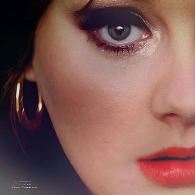 Adele Painting - Music Icons - Adele IIl by Joost Hogervorst